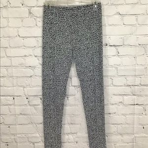 DKNY Animal Print Super Soft Leggings NWOT